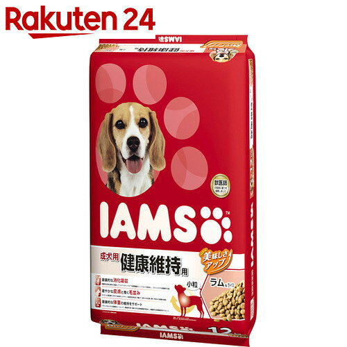 アイムス 成犬用 健康維持用 ラム&ライス 小粒 12kg【pet1】