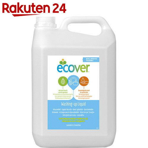 エコベール(Ecover) 食器用洗剤 カモミール 5000ml【xwq】