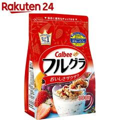 【ケース販売】カルビーフルーツグラノーラフルグラ800g徳用×6個