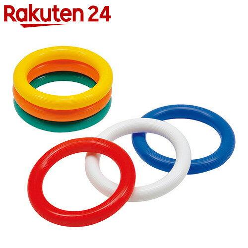 トーエイライト カラーリングバトン G-1312 6本組(青・緑・赤・黄・白・オレンジ)