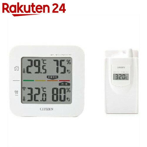 シチズン コードレス温湿度計 簡易熱中症指標表示付き THD501