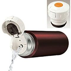 サーモスステンレススリムボトル500ml(0.5L)ブラウンFFM-500BW2枚目