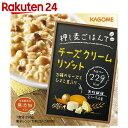 カゴメ 押し麦ごはんでチーズクリームリゾット 250g×6個【楽天24】【ケース販売】[押し麦ごはんでシリーズ 押麦(押し麦)]