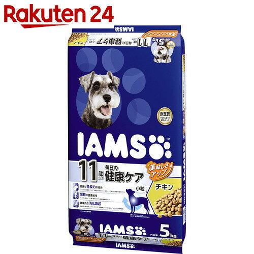 アイムス 11歳以上用 毎日の健康ケア チキン 小粒 5kg【イチオシ】
