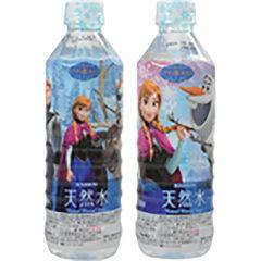 【ケース販売】ブルボンアナと雪の女王天然水500ml×24本2枚目