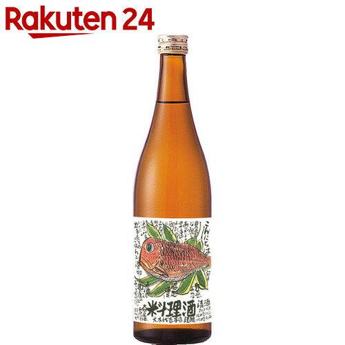 大木代吉 こんにちは料理酒 純米 720ml【HOF13】【イチオシ】【rank_review】