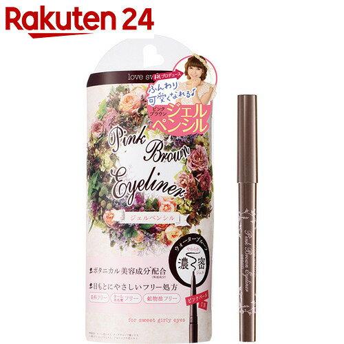 ラブスイッチ 桃コラボ ピンクブラウン ジェルアイライナーペンシルM 0.12g【BOX】