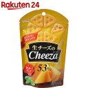 グリコ 生チーズのチーザ チェダーチーズ 40g×10袋【楽天24】【あす楽対応】【ケース販売】[グリコ スナック菓子]