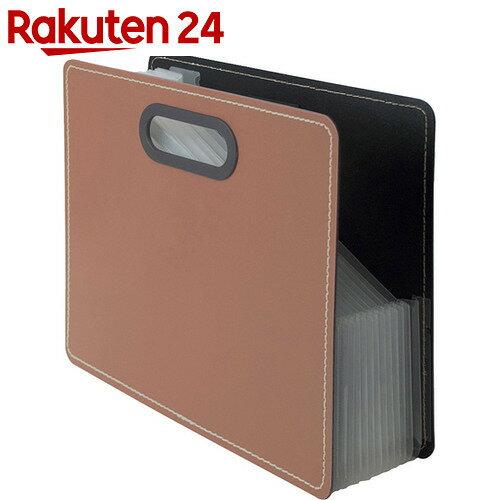 IROKATU ドキュメントファイル・発泡PP製 A4 ヨコ型 ウォールナットブラウン DF-A401E-WB