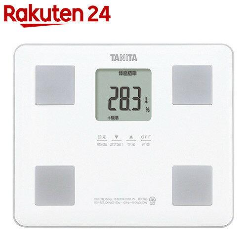 タニタ 体組成計 BC-760-WH ホワイト