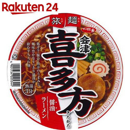 サッポロ一番 旅麺 会津・喜多方 醤油ラーメン 86g×12個
