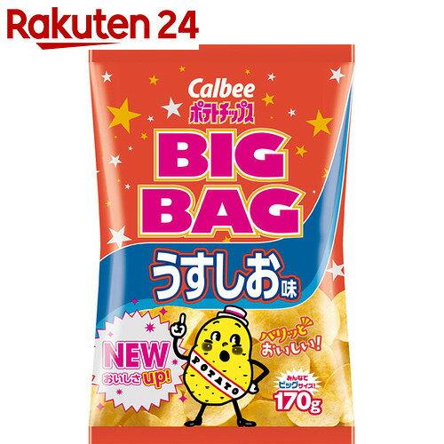 【ケース販売】カルビー ポテトチップス ビッグバッグ うすしお味 170g×12袋