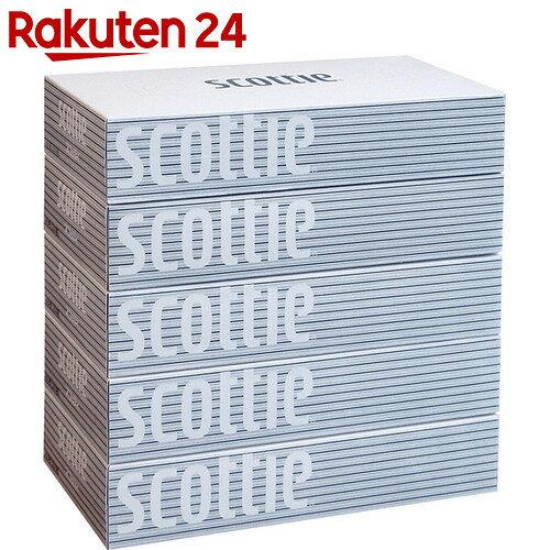 スコッティ ティッシュ 200組×5箱パック【gs】【stamp_cp】【stamp_001】【bnad01】