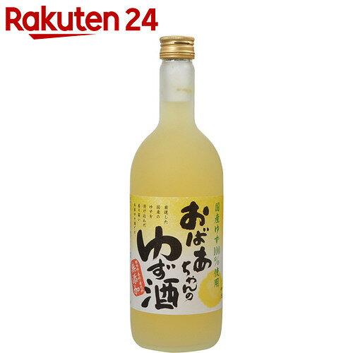国盛 おばあちゃんのゆず酒 7% 720ml