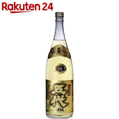 山元酒造 さつま五代 麦長期貯蔵酒 麦焼酎 25度 1.8L【楽天24】[山元酒造 麦焼酎]