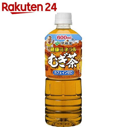 健康ミネラルむぎ茶 600ml×24本【イチオシ】【bnad02】