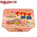 【訳あり】【ケース販売】やきそば弁当 たらこ味バター風味 111g×12個