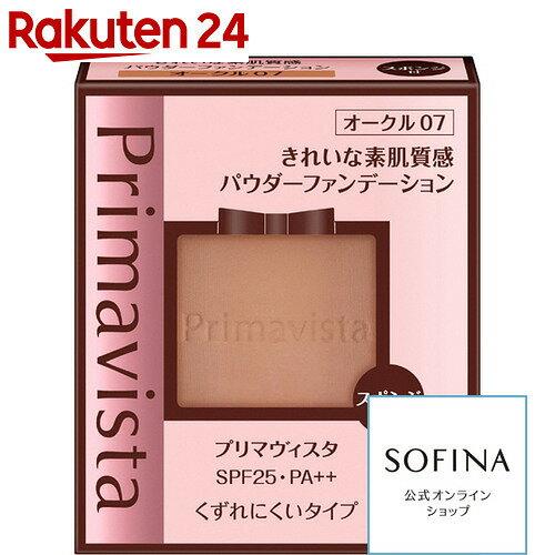 ソフィーナ プリマヴィスタ きれいな素肌質感パウダーファンデーション SPF25 PA++ オークル07 レフィル 9g