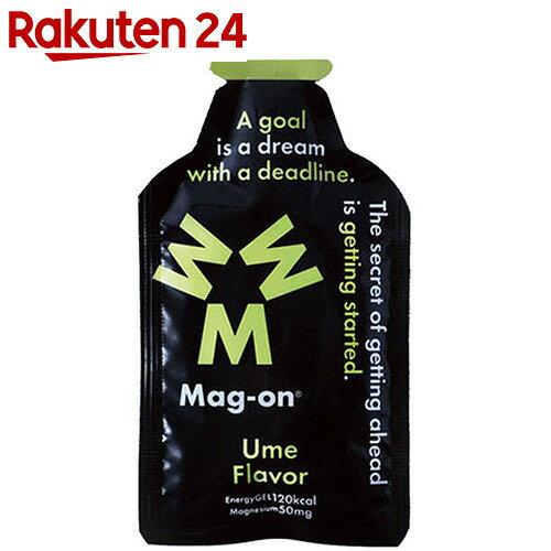 Mag-on(マグ・オン) マグネシウムチャージサプリメント エナジージェル ウメフレーバー 12個入