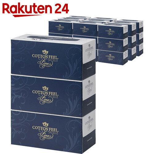 【ケース販売】コットンフィールファイン 3枚重ね 150組(450枚)×3個×10パック【efq】