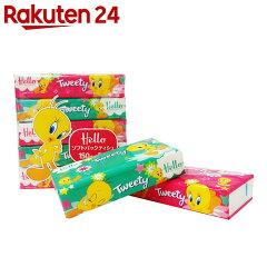 【ケース販売】ハロートゥイーティーソフトパックティシュ150組×5個パック×18パック