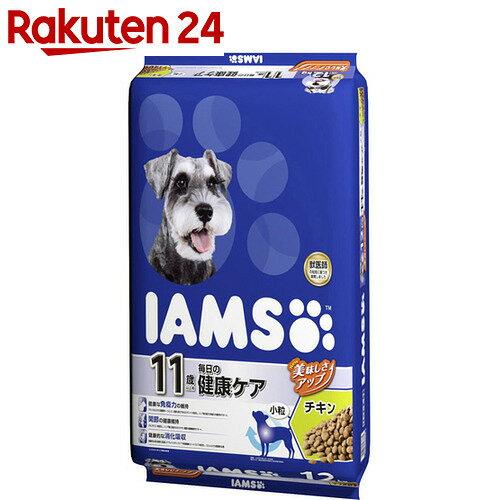 アイムス 11歳以上用 毎日の健康ケア チキン 小粒 12kg