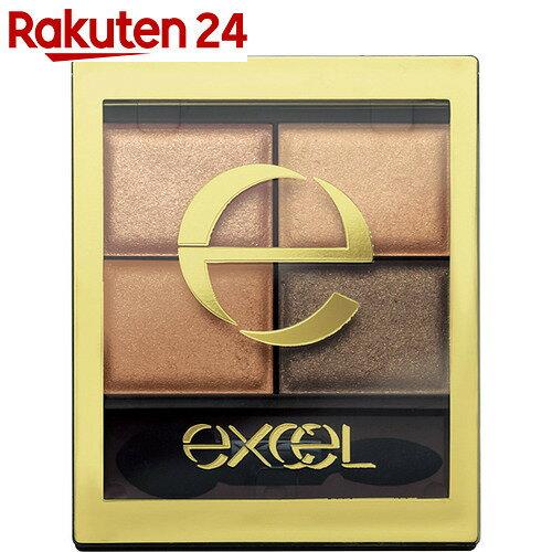 エクセル スキニーリッチシャドウ SR01 ベージュブラウン 4.3g【xdw】