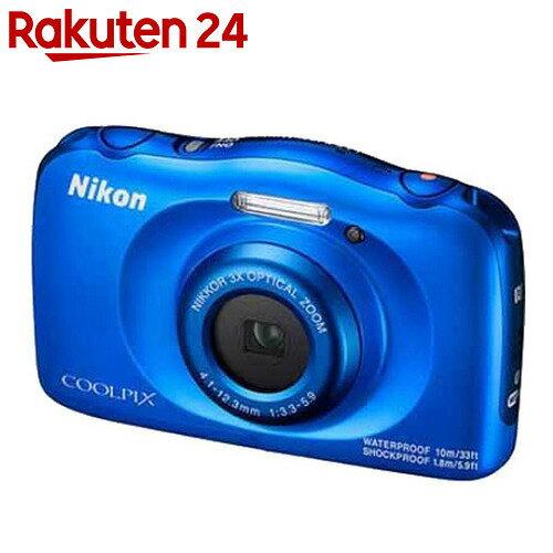 ニコン デジタルカメラ COOLPIX W100 ブルー