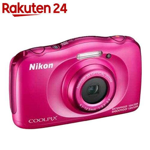 ニコン デジタルカメラ COOLPIX W100 ピンク