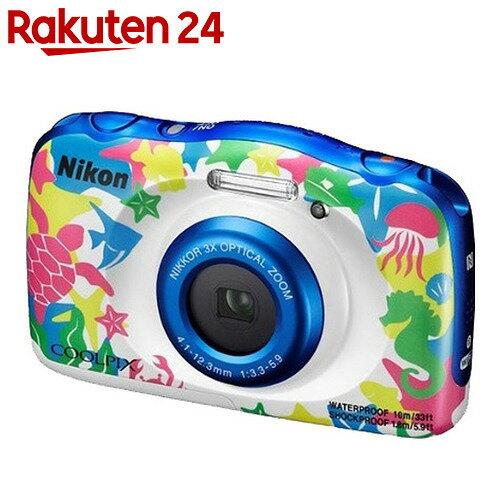 ニコン デジタルカメラ COOLPIX W100 マリン