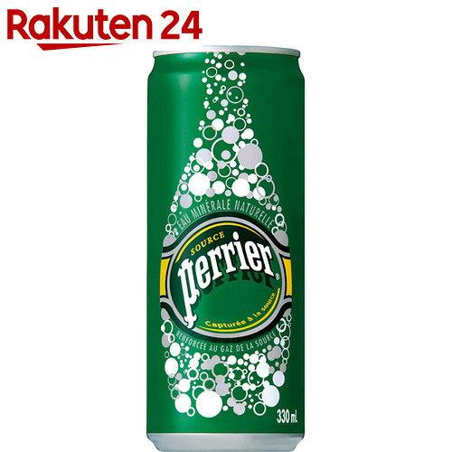 ペリエ 炭酸水 330ml×24缶(正規輸入品)