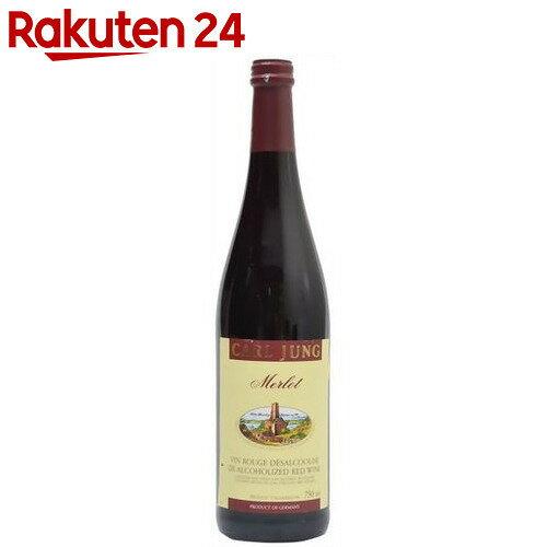 ノンアルコールワイン(赤) メルロー750ml【楽天24】