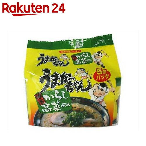 うまかっちゃん 博多からし高菜風味 5個パック【楽天24】