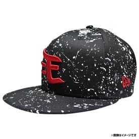 楽天イーグルス×NEW ERANEWERA 950 SPLASH BLACK/WHITEおしゃれ オンラインショップ かっこいい キャップ グッズ プロ野球 ベースボールキャップ ぼうし メンズ レディース 応援 応援グッズ 楽天イーグルス 東北楽天ゴールデンイーグルス 帽子 野球 野球帽