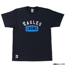 楽天イーグルス×CHUMS[チャムス] シンプルロゴ Tシャツ《ネイビー》
