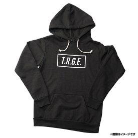 【T.R.G.E.】ロゴパーカー《ブラック・グレー》