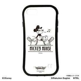ミッキーマウス(ひとやすみ)/東北楽天ゴールデンイーグルス iPhone7/8ラバーエッジ 《楽天イーグルス》