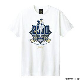【受注生産】田中将大選手2500投球回達成記念 Tシャツ(WHITE/ホワイト)/#18田中将大【12月下旬以降予定】《楽天イーグルス》