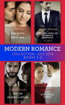 Modern Romance July 2018 Books 5-8 Collection: Inherited for the Royal Bed / His Million-Dollar Marriage Pro…