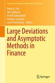 Large Deviations and Asymptotic Methods in Finance【電子書籍】