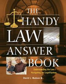 The Handy Law Answer Book【電子書籍】[ David L Hudson, J.D. ]