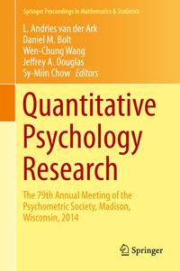 QuantitativePsychologyResearchThe79thAnnualMeetingofthePsychometricSociety,Madison,Wisconsin,2014
