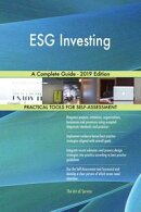 ESG Investing A Complete Guide - 2019 Edition