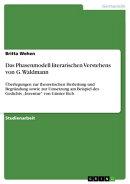 Das Phasenmodell literarischen Verstehens von G. Waldmann