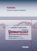Chapter 57 Taken from Textbook of Dermatology & Sexually Trasmitted Diseases - PURPURA