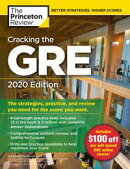 Cracking the GRE with 4 Practice Tests, 2020 Edition