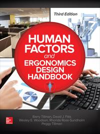 Human Factors and Ergonomics Design Handbook, Third Edition【電子書籍】[ Barry Tillman ]