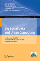 Big Social Data and Urban Computing