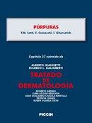 Capítulo 57 extraído de Tratado de Dermatología - PÚRPURAS