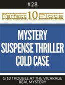 """Perfect 10 Mystery / Suspense / Thriller Cold Case Plots #28-1 """"TROUBLE AT THE VICARAGE – REAL MYSTERY"""""""